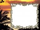 Palmės ir saulėlydis