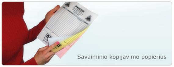 Savaiminio kopijavimo popierius